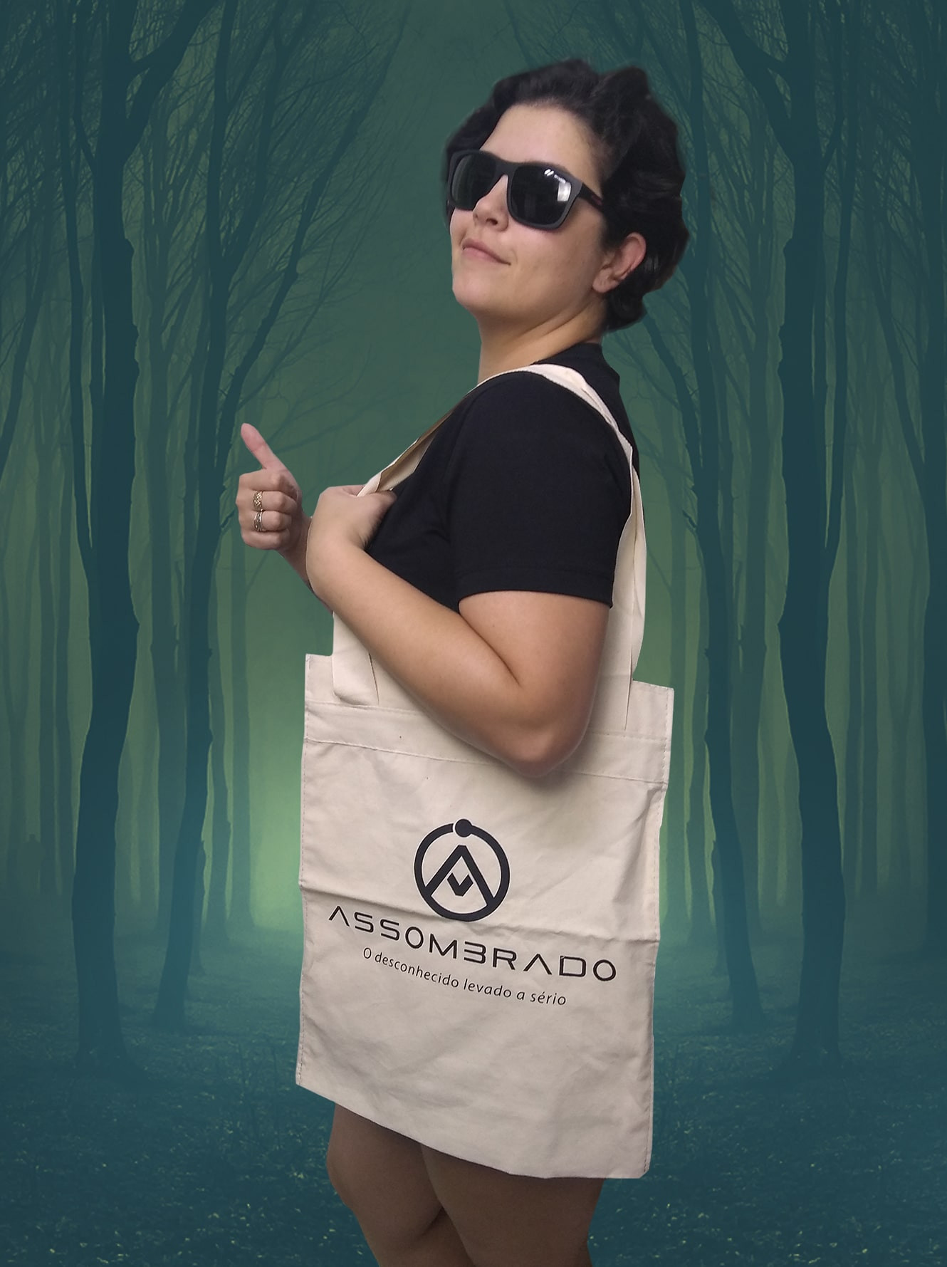 Eco Bag Assombrado