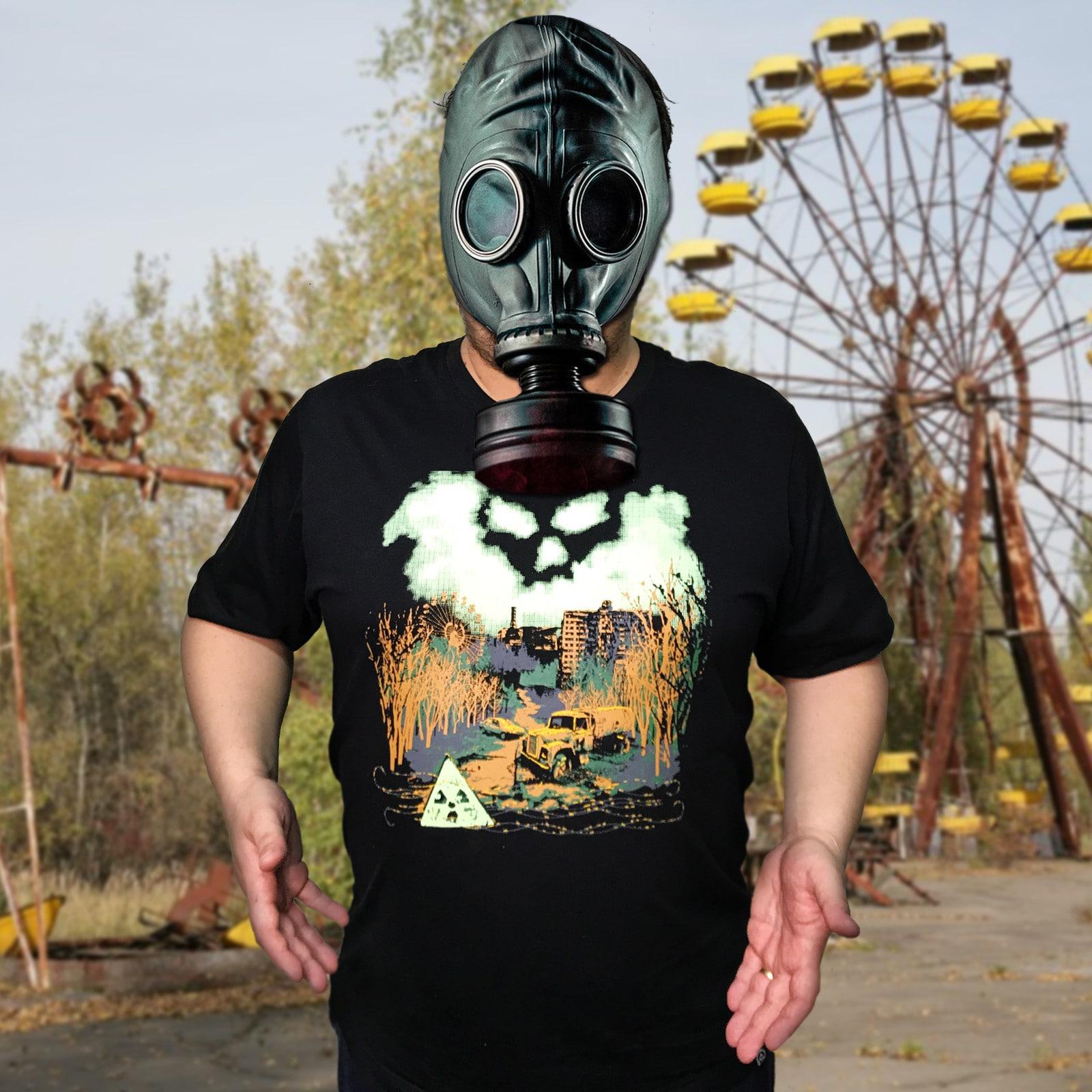 Camiseta Chernobyl (Brilha no Escuro!)