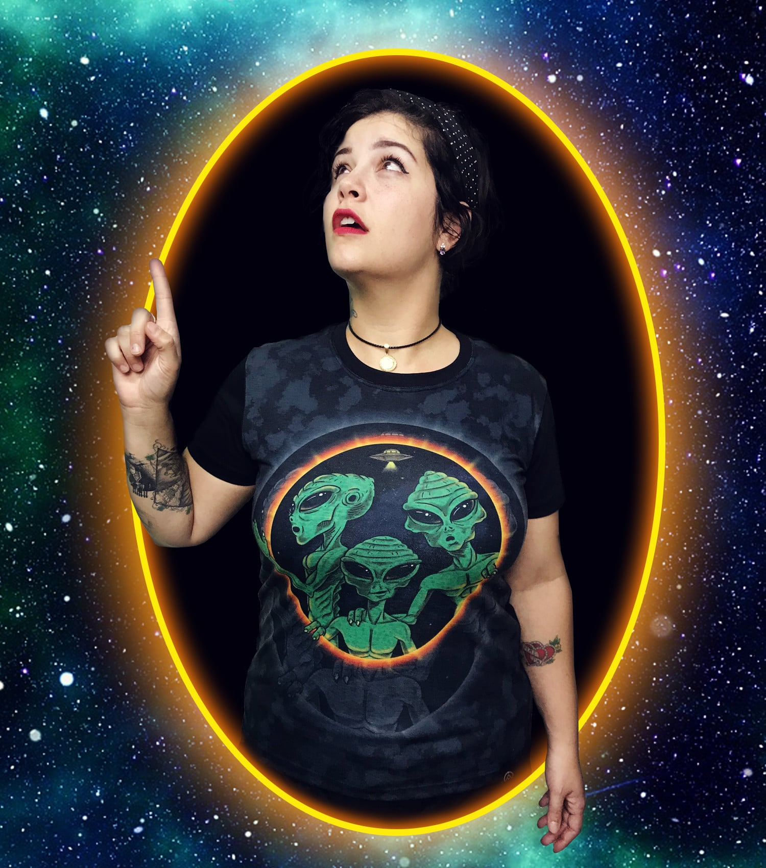 Camiseta Portal dos Extraterrestres