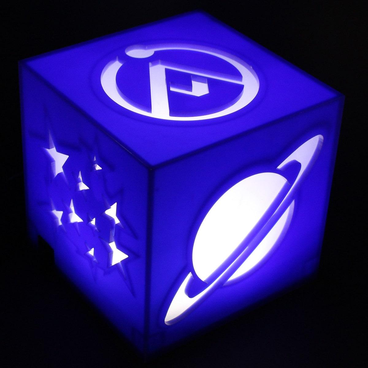 Luminária Cubo: Universo