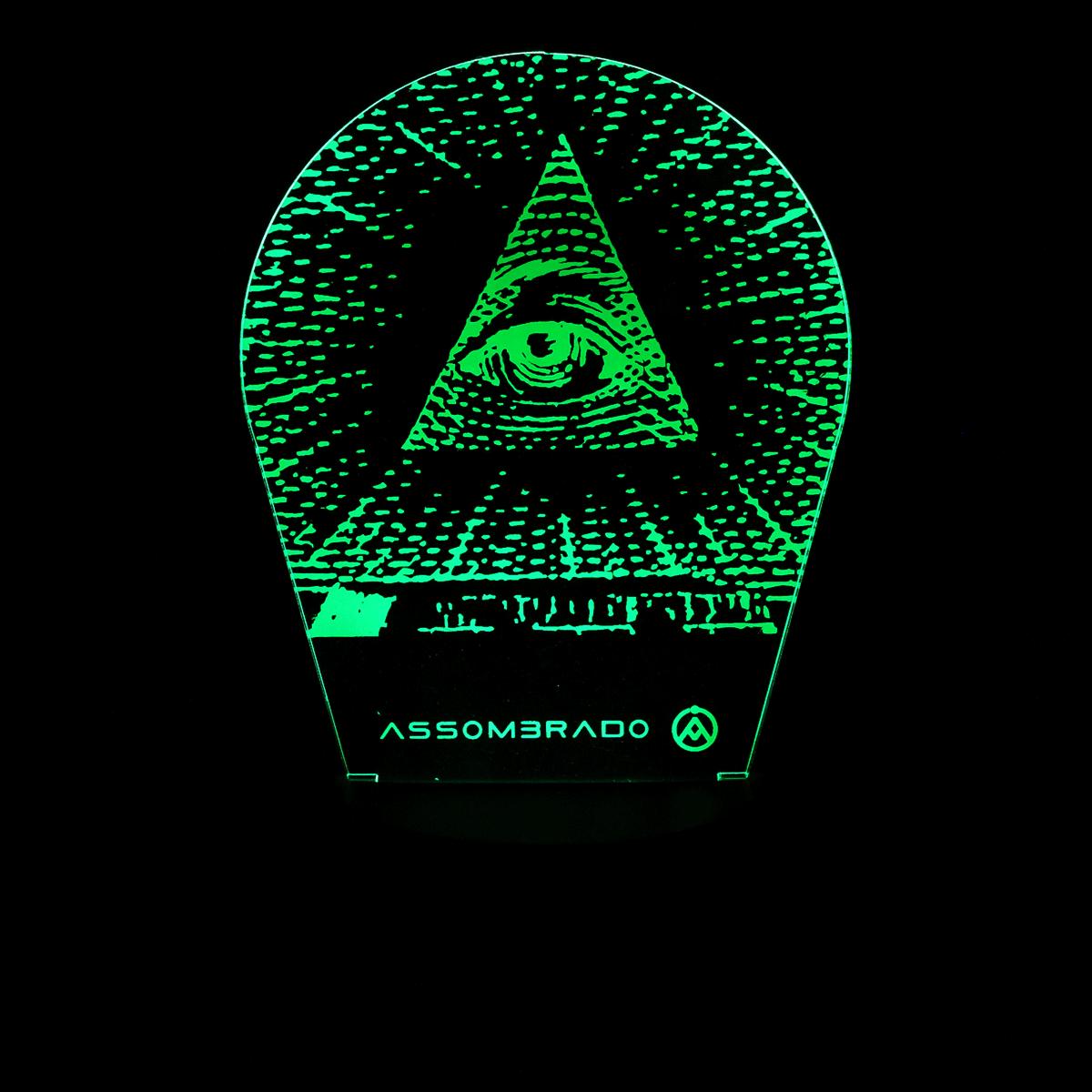 Luminária em Acrílico Sem Fio: Conspiração