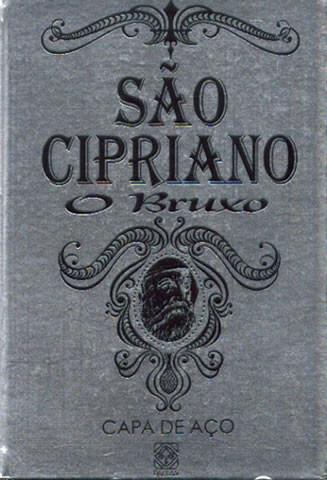 São Cipriano, o Bruxo - Capa de Aço - LIVRO NOVO - RARO