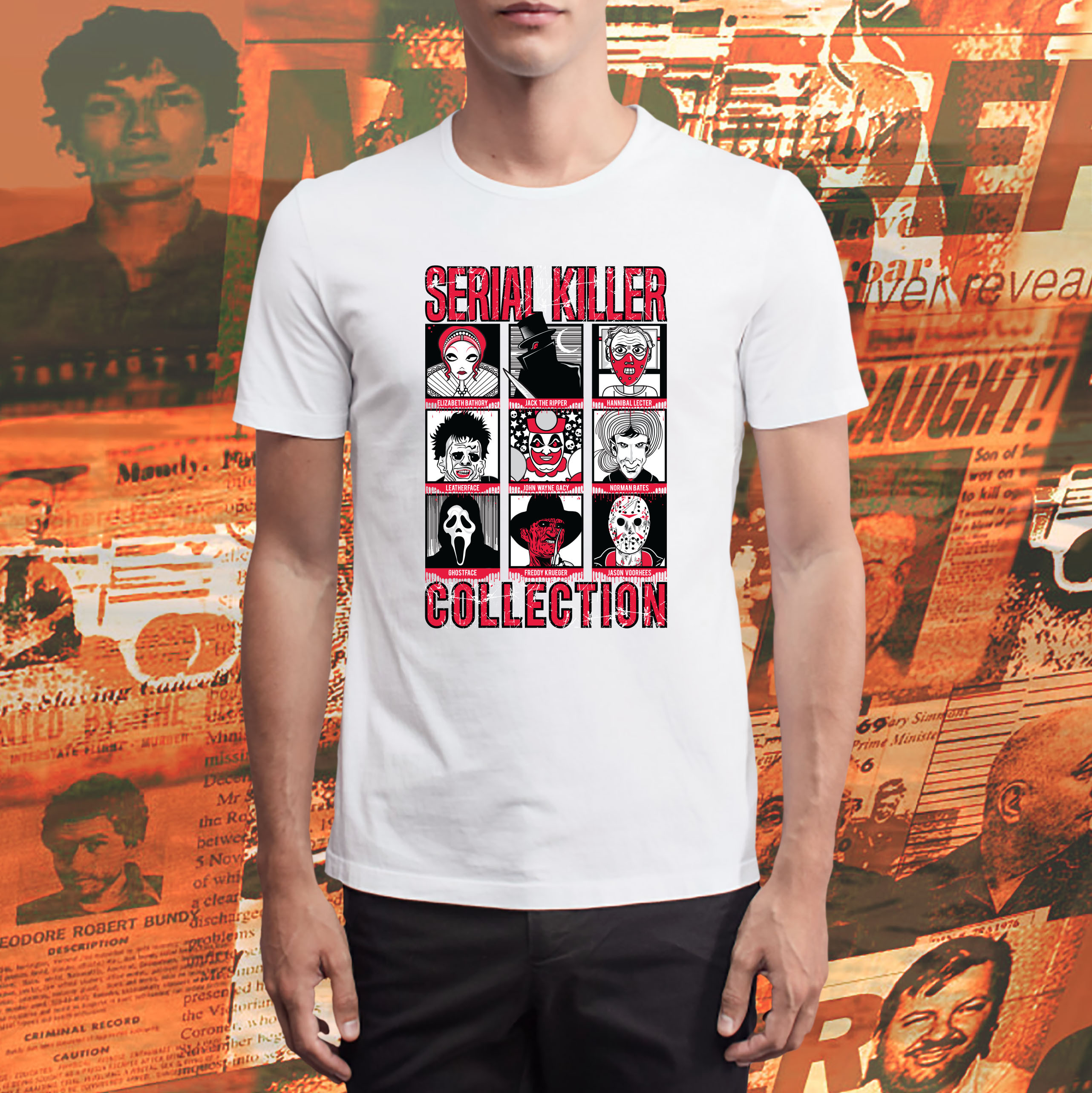 Camiseta Serial Killers