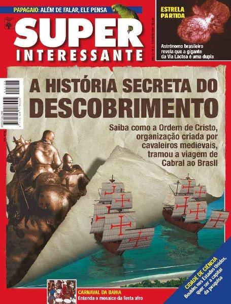 A História Secreta do Descobrimento - Superinteressante fev/1998